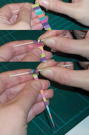 méthode de fabrication des perles de papier