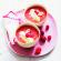 Recette : soupe glacée de tomates et fraises, crème de mozzarella