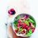 Recette : salade folle aux magrets fumés et aux framboises